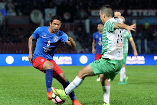 JDT Belasah Melaka 7-0