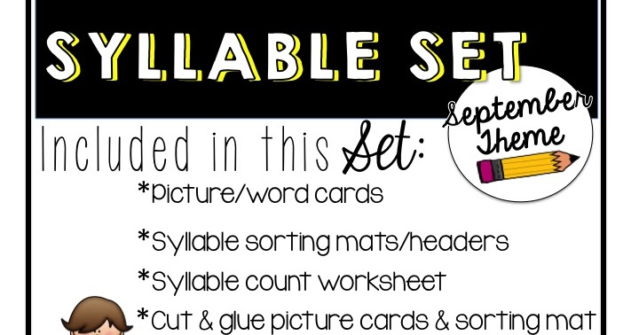 First Grade Fanatics: Looking for syllable activities?
