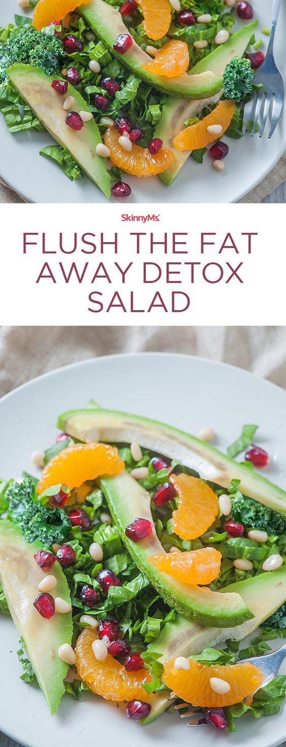 Flush The Fat Away Detox Salad