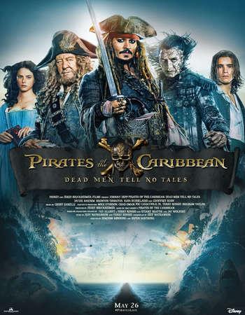 Pirates of the Caribbean Dead Men Tell No Tales 2017 Hindi ORG Dual Audio 600MB BluRay 720p ESubs HEVC