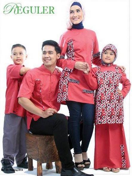 Model Baju Muslim Couple Keluarga Modern