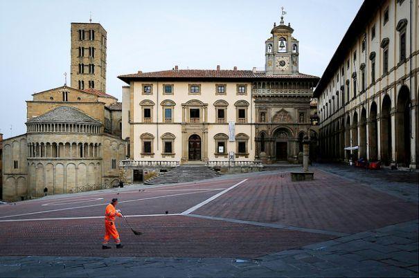 Arezzo,Tuscany-Italy