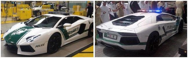 Lamborghini Aventador Dubai Police Car UAE
