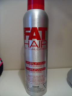 Fat Hair mousse - hair mousse - review