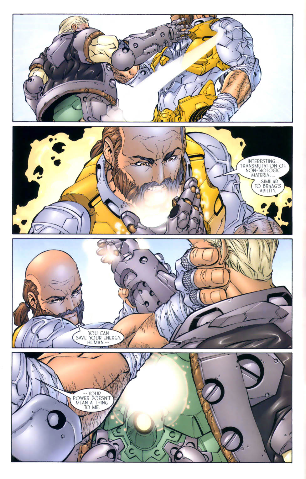 Read online Sigil (2000) comic -  Issue #4 - 12