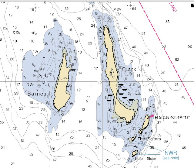 clark Island noaa chart