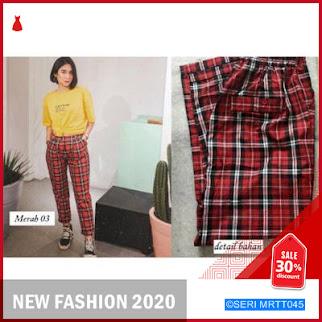 MRTT045C42 Celana Panjang Wanita MARGARET PANTS Keren BMGShop