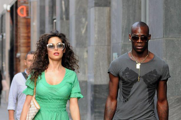 Football all star   football player wallpapers: Mario Balotelli Girlfriend Raffaella Fico 2013