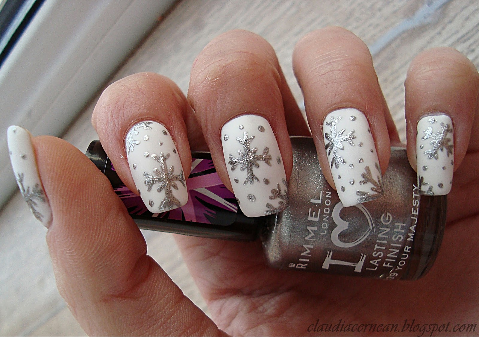 Nails Art Tutorials Unghii De Iarna Winter Nails