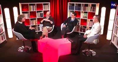 Emission dur Proudhon avec Michel Onfray, Alain de Benoist, Thibault Isabel. Les Idées à l'endroit °9. TV Libertés - 2 juin 2016