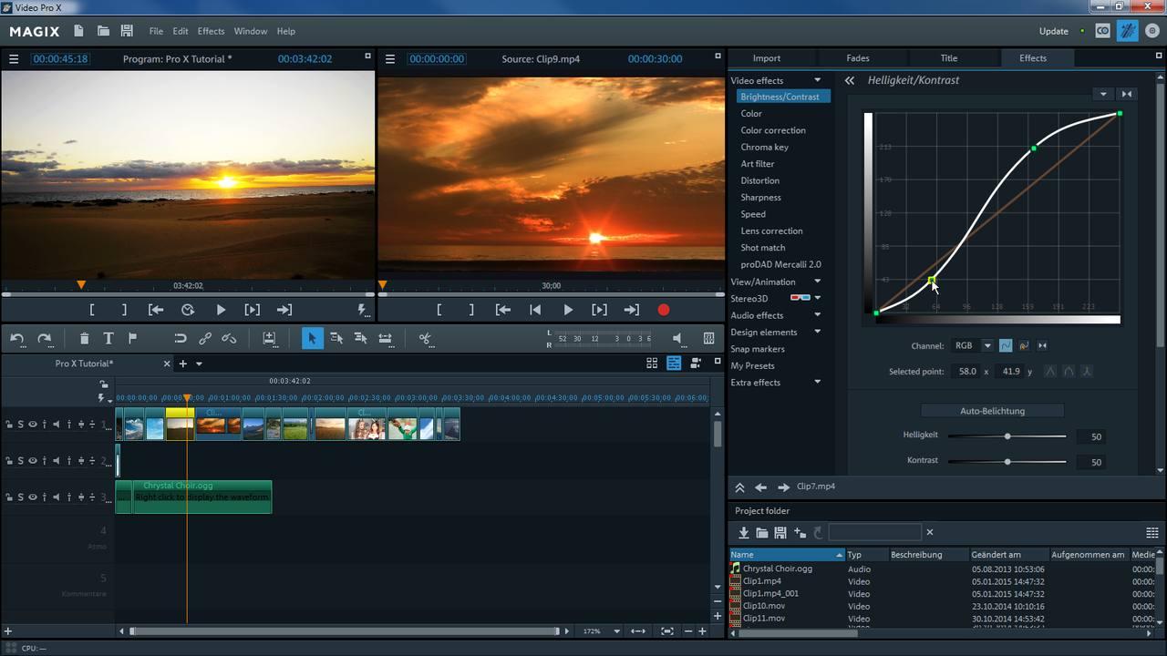 MAGIX Video Pro X8 + Crack