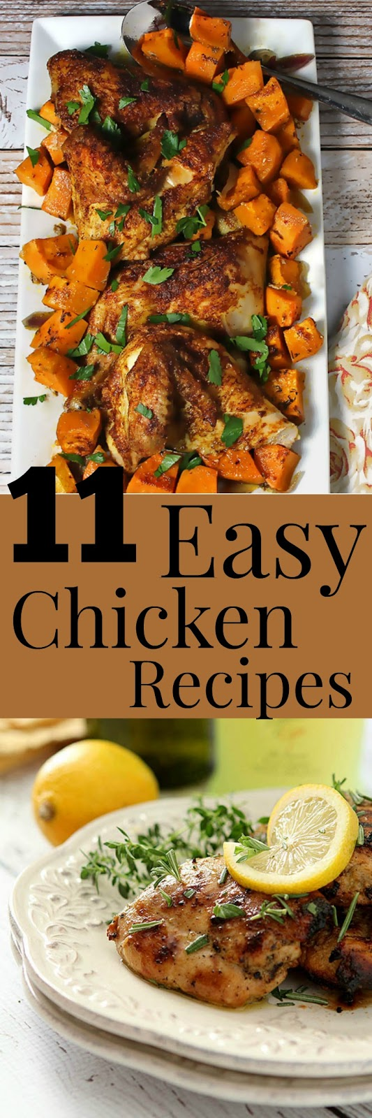 Easy Chicken Recipes for National Chicken Month | Renee's Kitchen Adventures -11 easy chicken recipes