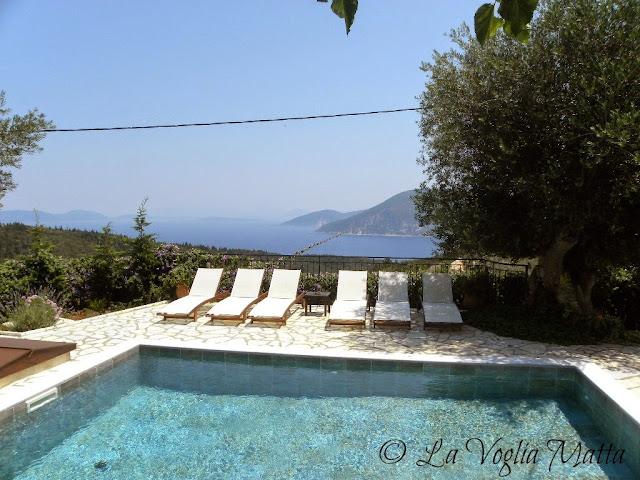 Cefalonia Villa Kalogris piscina