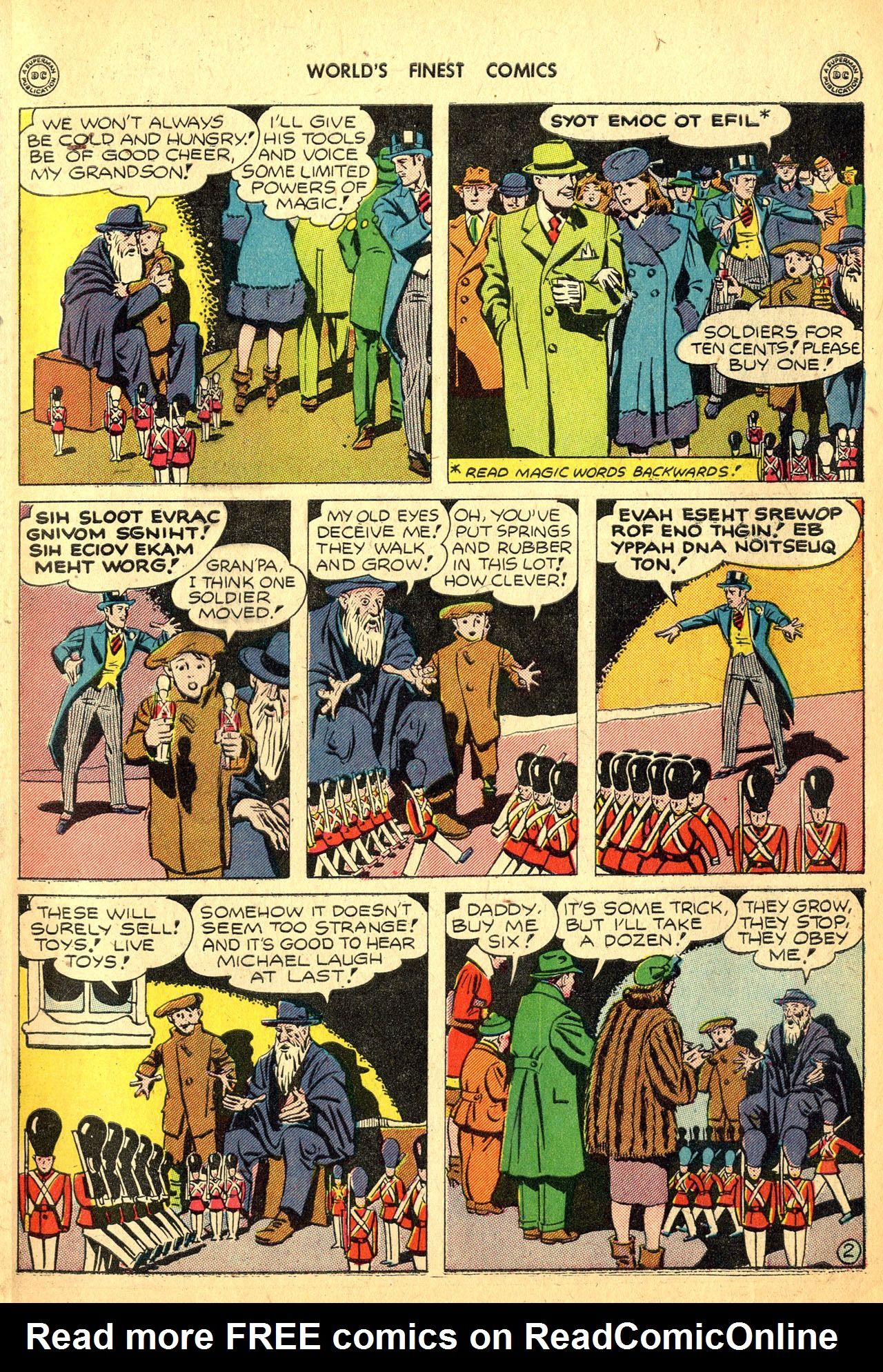 Read online World's Finest Comics comic -  Issue #18 - 27