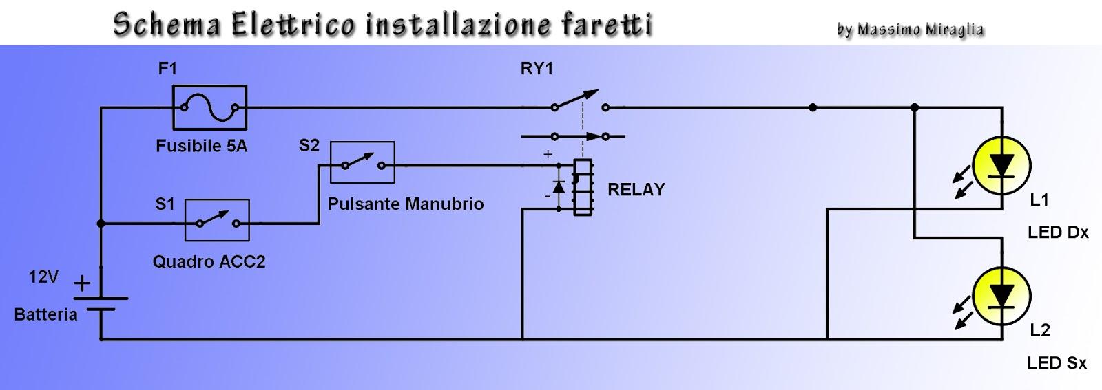 Schema Elettrico Per Faretti Moto : Massimo miraglia ktm adventure r tuning