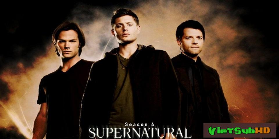 Phim Siêu nhiên (Phần 4) Trailer VietSub HD | Supernatural (Season 4) 2008