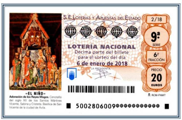 comprobar la lotería del niño 2018