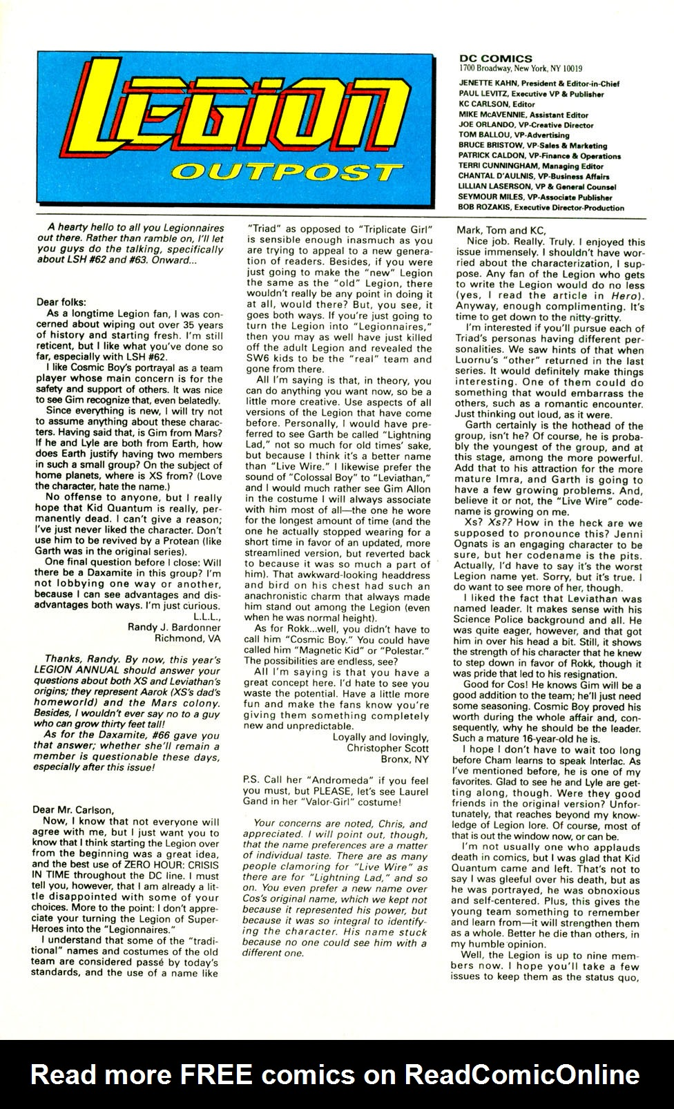 Legion of Super-Heroes (1989) 70 Page 24