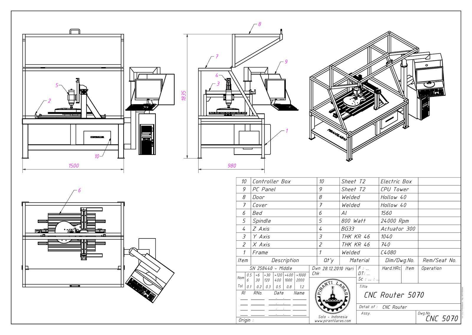 Desktop CNC Machine DIY: DIY CNC Desktop 5070