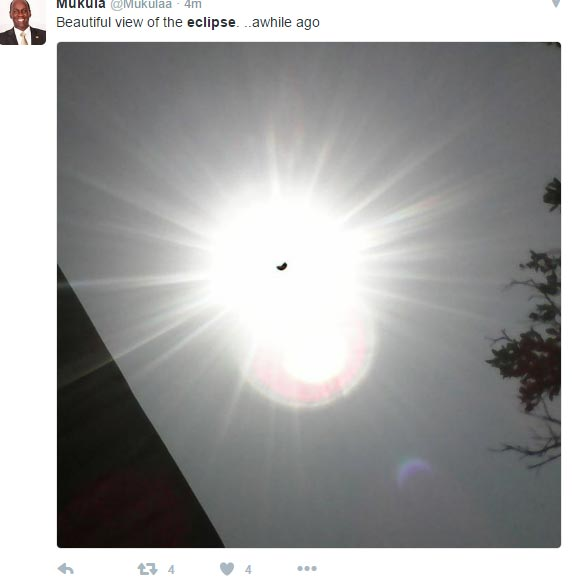 See pictures of annular eclipse witnessed around Nigeria today