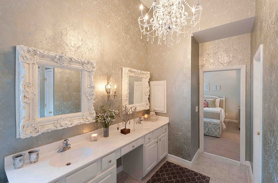 10 awesome feminine bathroom decorating ideas that will