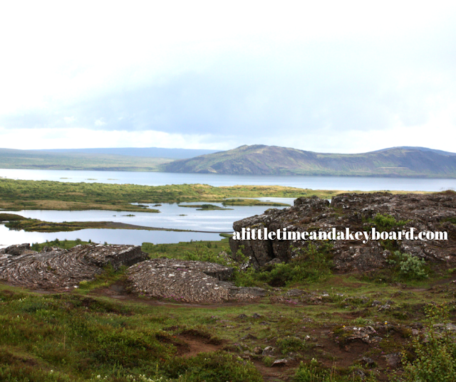 Thingvallavatn the largest fresh water lake in Iceland
