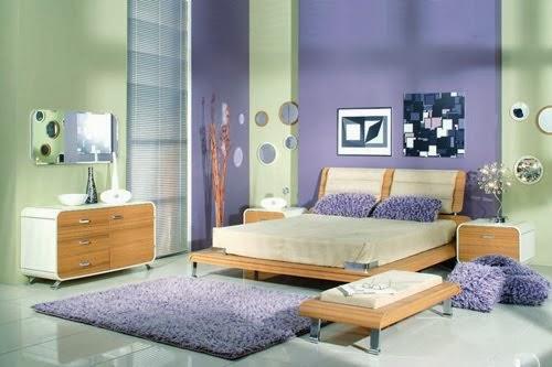 violeta quarto decoração quarto roxo