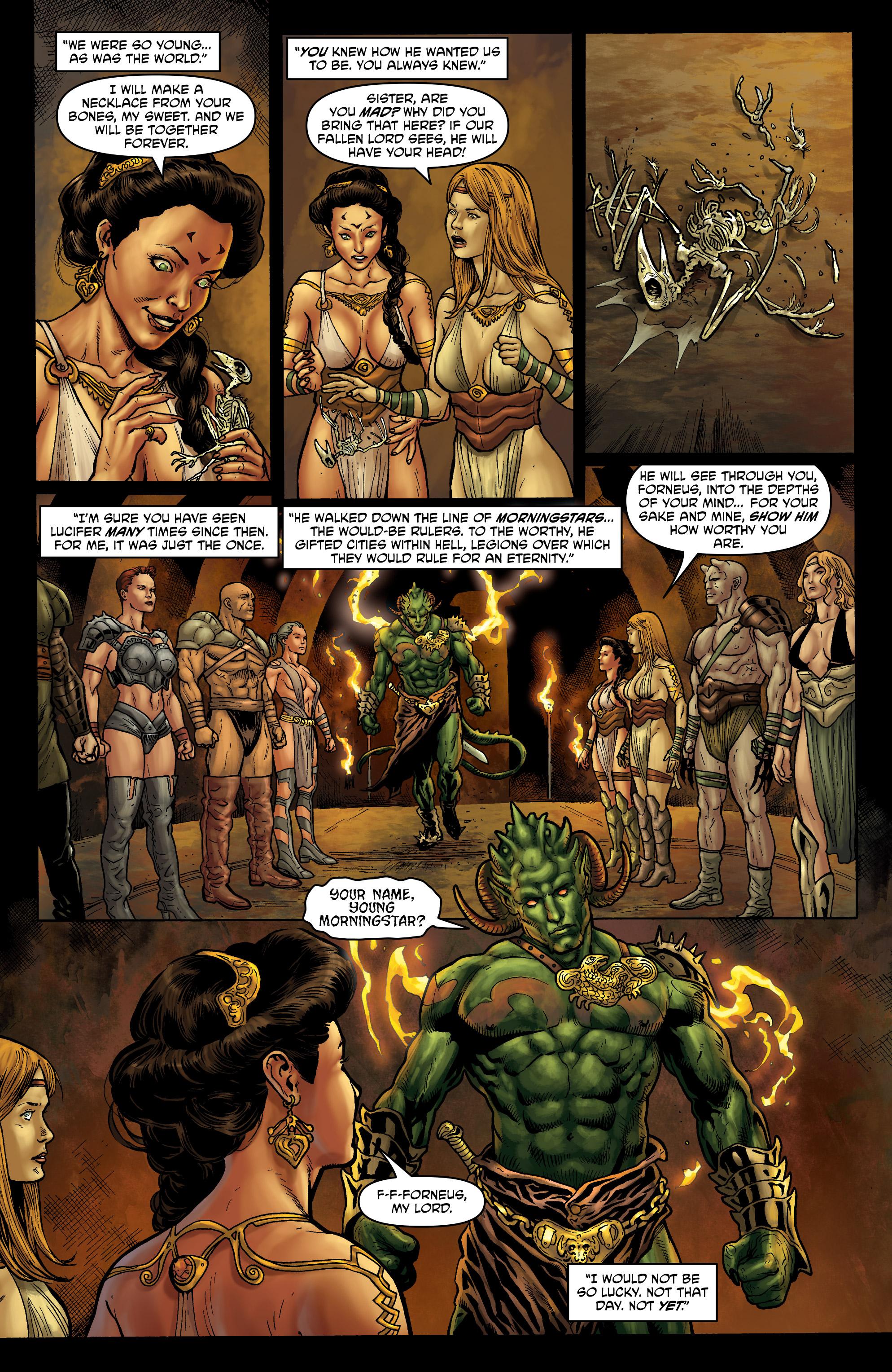 Read online Hellina: Scythe comic -  Issue #4 - 6