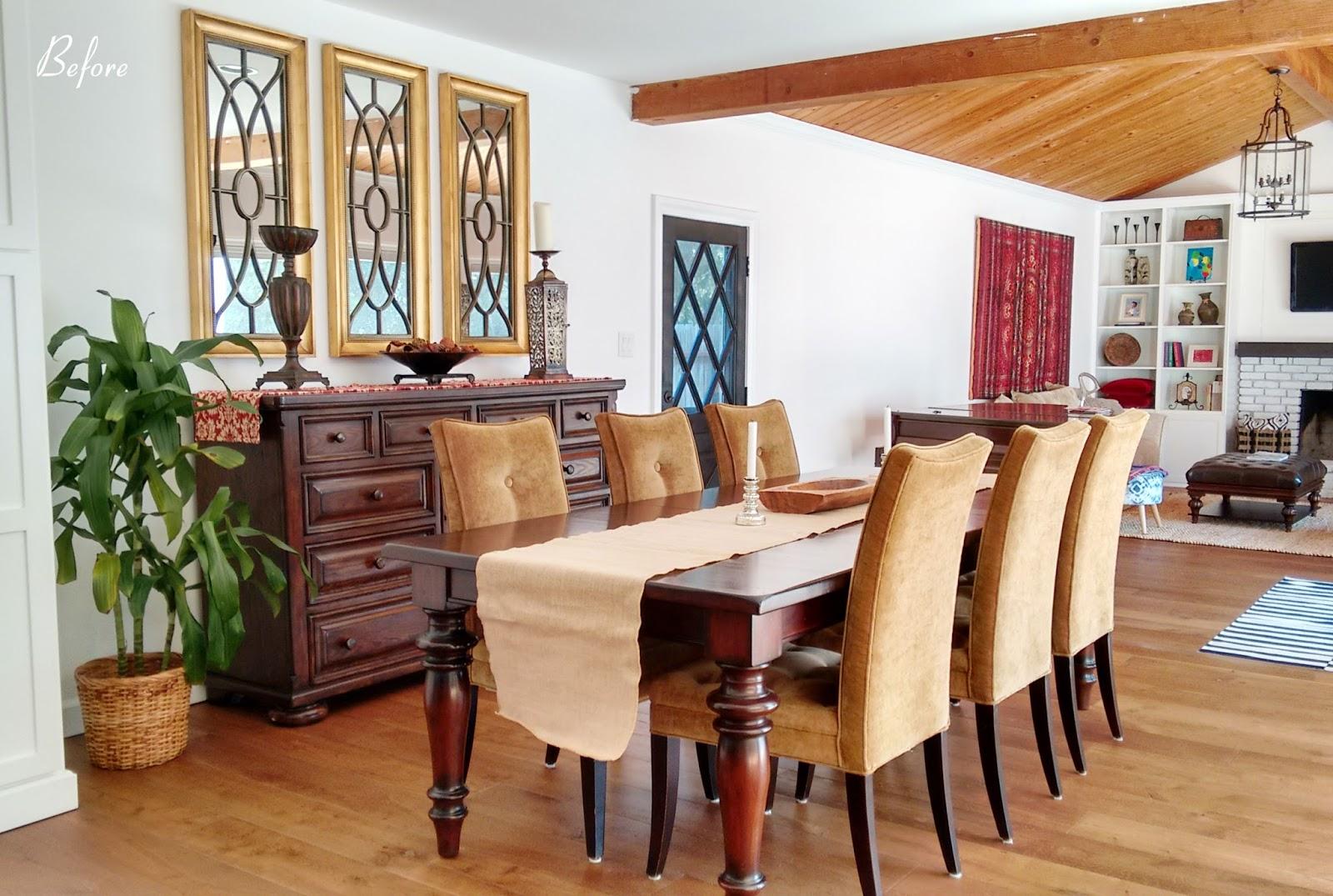 one room challenge interior design makeover dining room