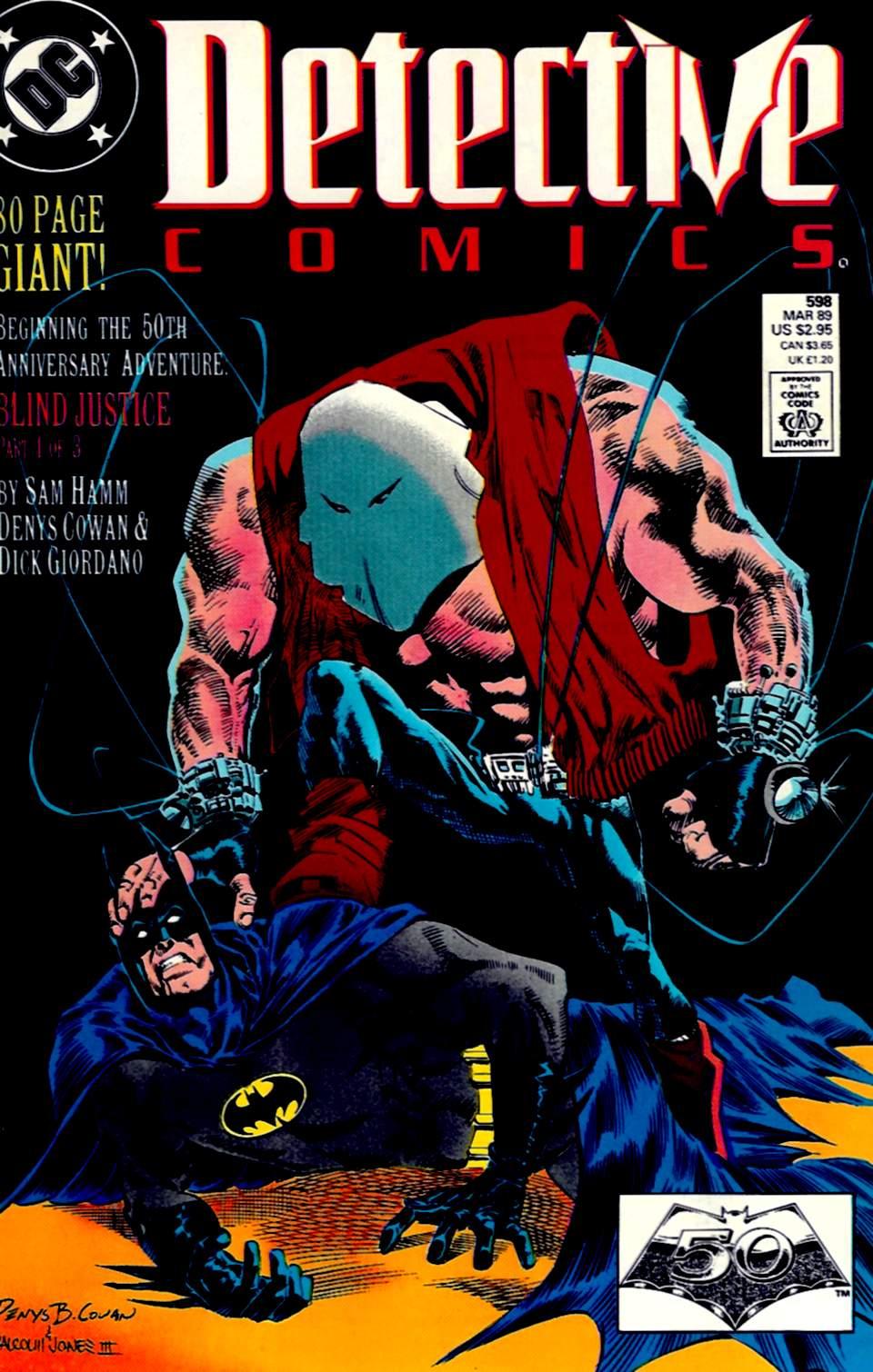 Detective Comics (1937) 598 Page 0