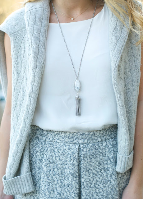 Kendra Scott tassel pendant necklace