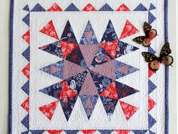 Harmony Mini Quilt + Your Free March 2017 Calendar