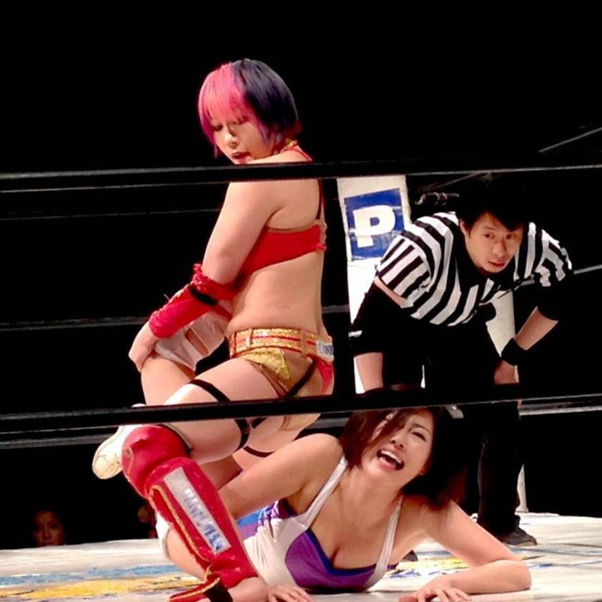 Natsu Sumire -kana -  Japanese Female Wrestling
