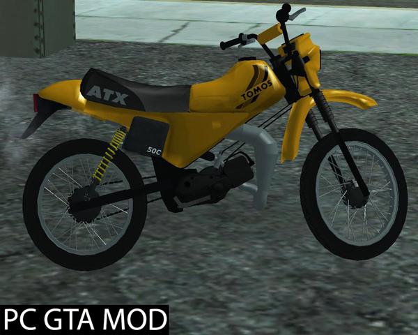 Free Download  TOMOS ATX 50  Mod for GTA San Andreas.