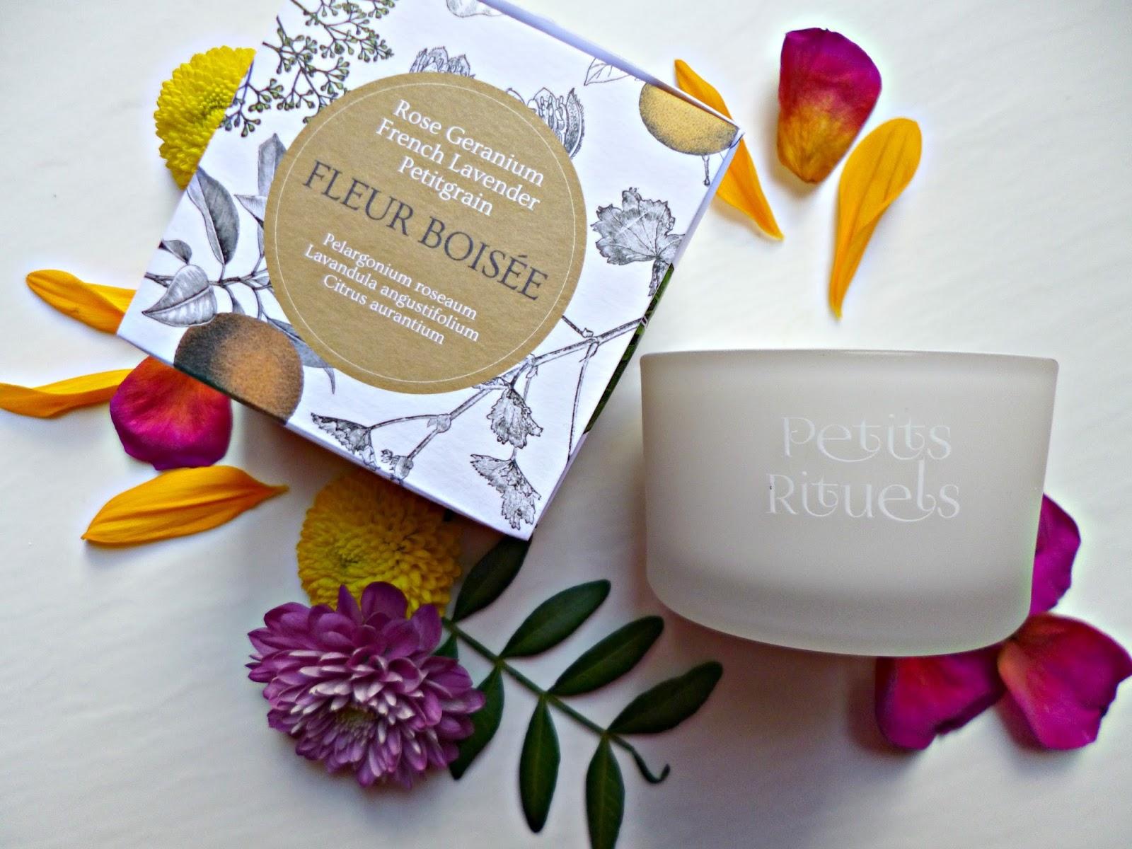 Petits Rituels Fleur Boisée Travel candle
