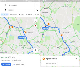 Google Maps: Will Display Speed Limits and Position of Road Speed Cameras | DigiWeb Trends