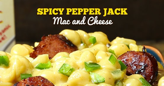 Spicy Pepper Jack Mac And Cheese