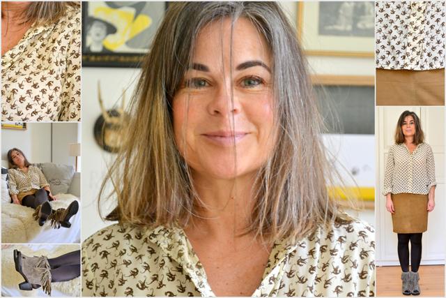 Graue haare wachsen lassen  Modische haarschnitte und haarfrbungen