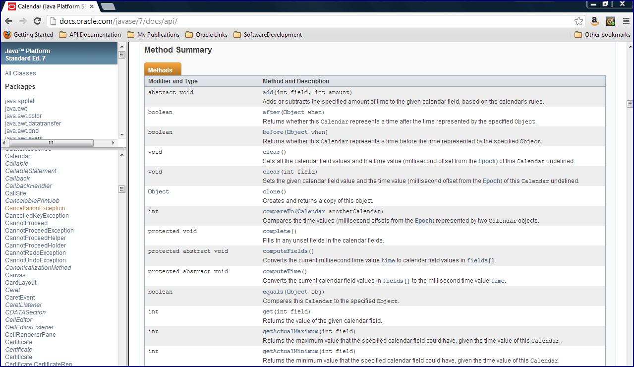 JDK 8 Javadoc Tweaked For Methods Listings - DZone Java