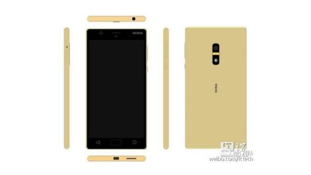 Nokia D1C emas