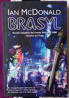 Portada del libro Brasyl, de Ian McDonald