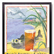 Don't Drink the Water, Drink the Beer. Poster Art for Shoreline Brewery