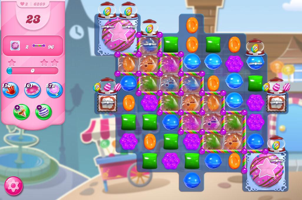 Candy Crush Saga level 6269