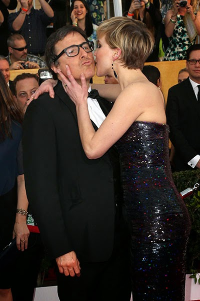 Jennifer Lawrence and David O.Rassel