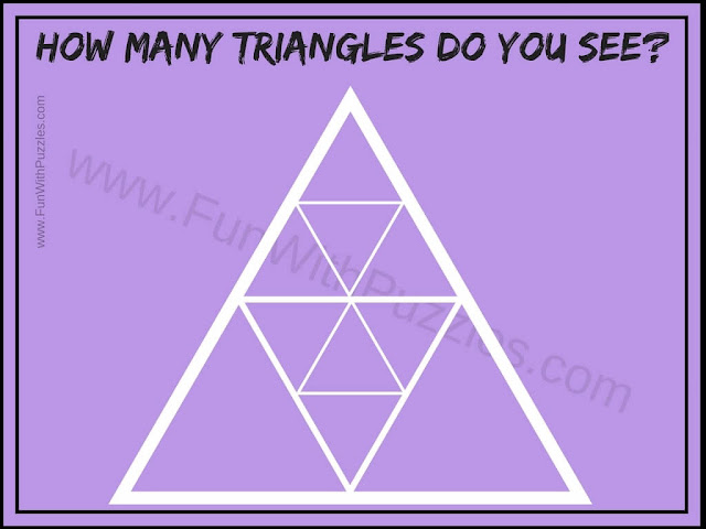 How Many Triangles Brain Teaser