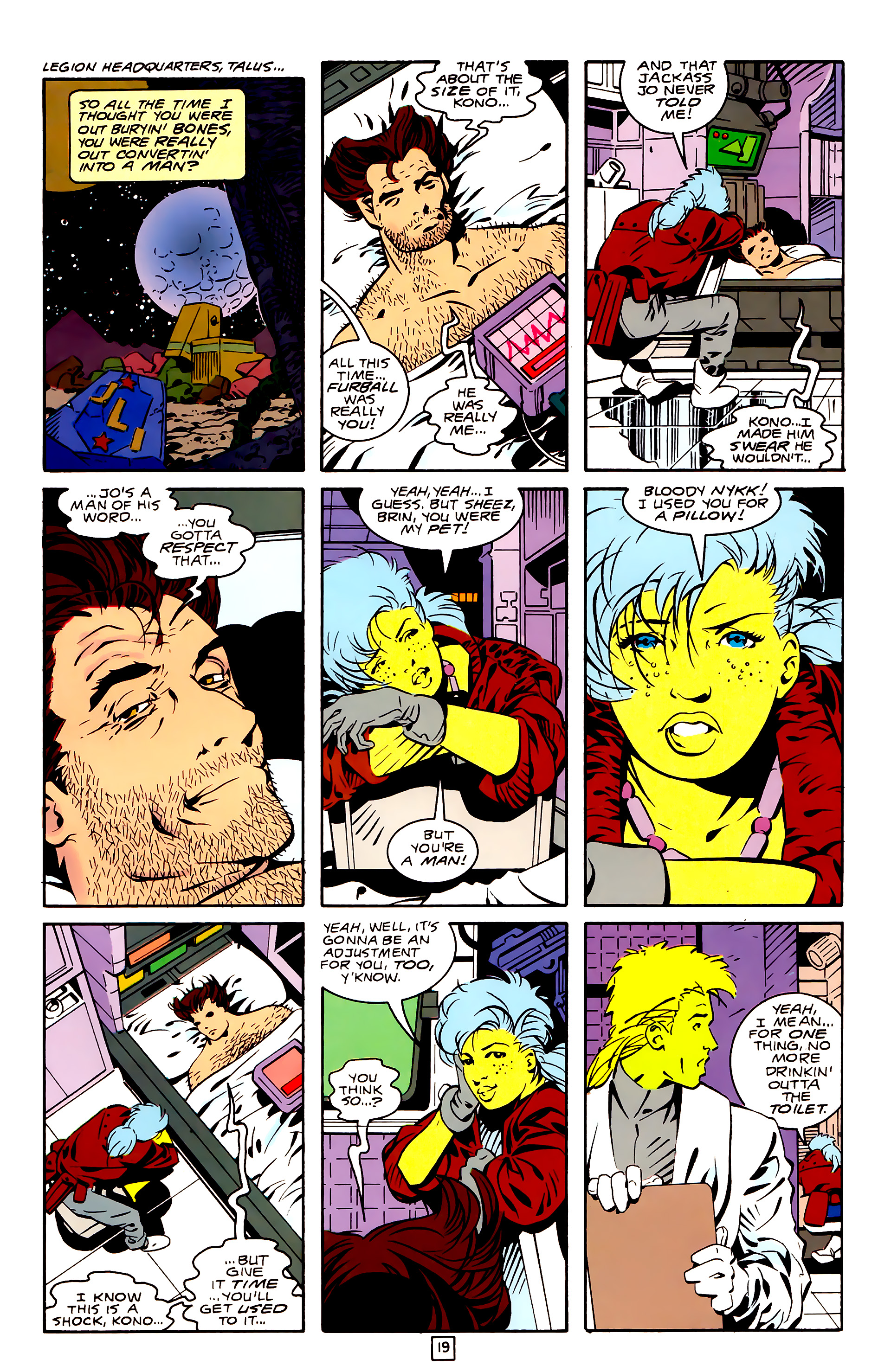 Legion of Super-Heroes (1989) 26 Page 19