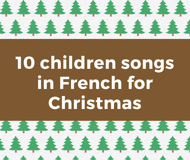 Christmas songs in French for children