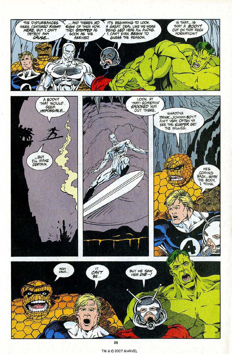 Read online Silver Surfer (1987) comic -  Issue #96 - 31