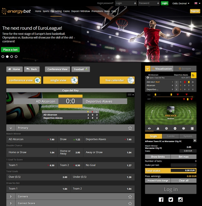 EnergyBet Screen