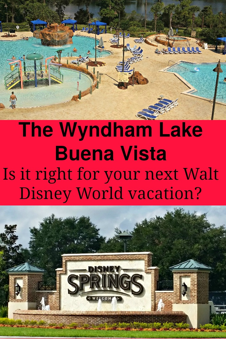 Considering non-Disney owned properties for your next Walt Disney World vacation?  Read up on the Wyndham Lake Buena Vista in the Disney Springs area!
